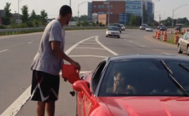 Evan Turner and His Ferrari Run Out of Gas