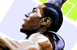 Kawhi Leonard 'NBA Finals MVP' Illustration
