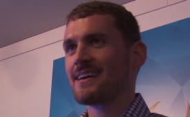 Kevin Love Gets Grilled By Two Kid Reporters