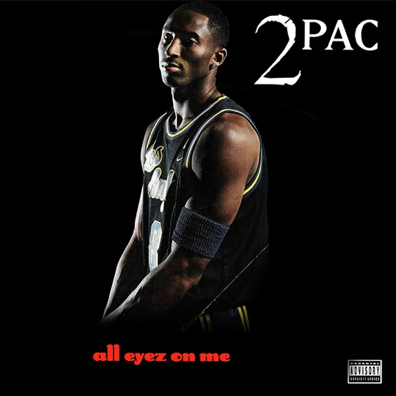 Rap Album Covers x NBA Players