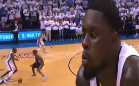 Lance Stephenson Strikes Again In the Western Conference Finals