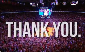 The NBA Thanks the Best Fans in the World