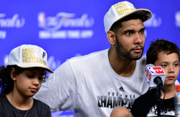 Tim Duncan's Kids Steal The Show In the Postgame Presser