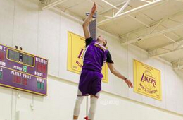 Watch Zach LaVine Jump Onto Your Radar at a Lakers Workout