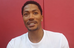 Derrick Rose Sits Down with USA Basketball