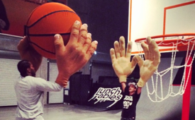 Kawhi Leonard and Rob Dyrdek Were All Hands at the Fantasy Factory