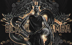 Kobe Bryant 'POWER Black Mamba' Art