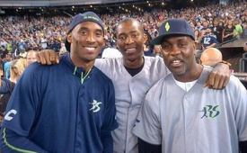 Kobe Bryant Goes Yard at Richard Sherman's Celebrity Softball Game
