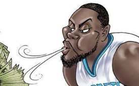 Lance Stephenson 'Rejects the Pacers' Illustration