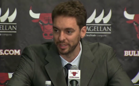 Chicago Bulls Introduce Pau Gasol