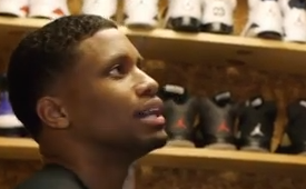 Rudy Gay Has Sneakers For Days