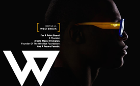 Russell Westbrook Launches 'Westbrook Frames' Eyewear