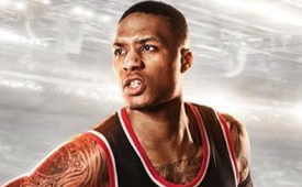 Damian Lillard Lands NBA Live 15 Cover
