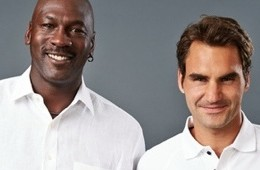 Roger Federer And Michael Jordan Collaboration On a Tennis Shoe