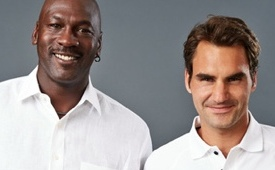 Roger Federer And Michael Jordan Collaborated On a Tennis Shoe