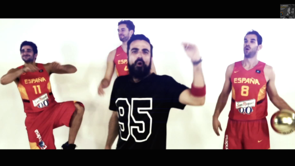 Watch Players Dance to the FIBA World Cup Theme Song