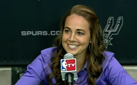 Spurs Hire Becky Hammon As Assistant Coach