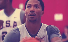 Derrick Rose USA Basketball Training Camp Highlights