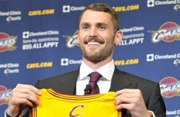 Cleveland Cavaliers Introduce Kevin Love