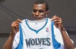 Timberwolves Introduce Andrew Wiggins and Anthony Bennett