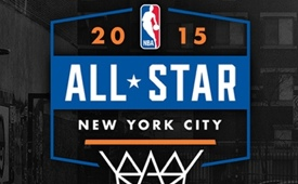 New York City 2015 NBA All-Star Game Weekend Logo