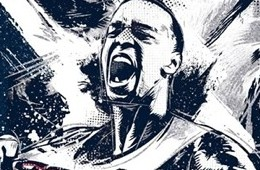 Shabazz Napier Husky Spirit Illustration