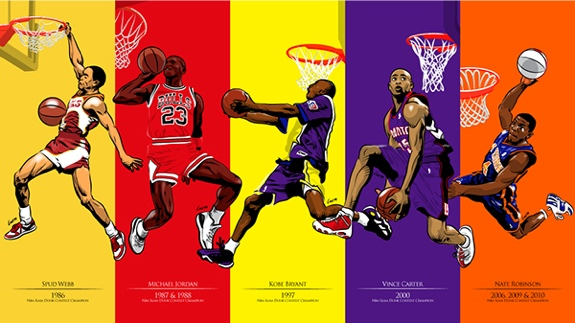 NBA Slam Dunk Heroes Art