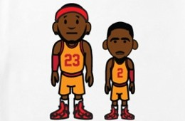 ILTHY LeBron James x Kyrie Irving '23 and 2' Tee