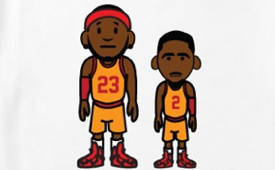ILTHY LeBron James x Kyrie Irving '23 and 2′ Tee