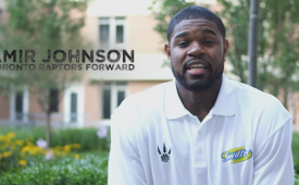 Amir Johnson Is the Man Clean Swiffer Ambassador