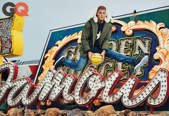 Blake Griffin Graces October GQ Cover