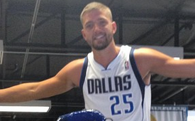 Chandler Parsons Takes Hump Day to the Next Level