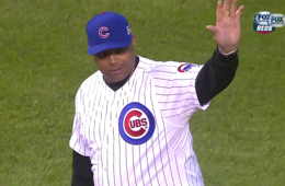 Charles Barkley Tosses Turrible First Pitch at Chicago Cubs Game