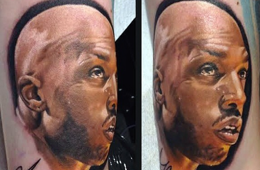 Best Chauncey Billups Fan Tattoo Ever