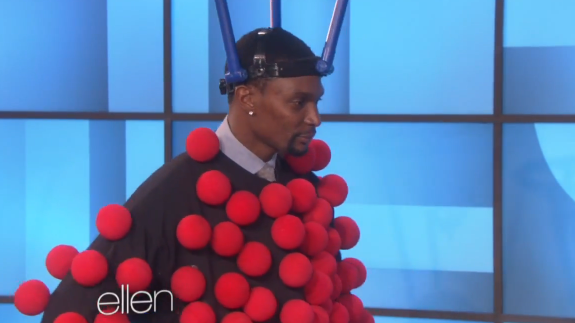 Chris Bosh Plays 'Hoop Dee Do Me' on The Ellen DeGeneres Show