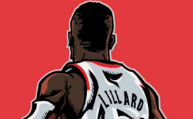 Damian Lillard 'ZERO' Illustration