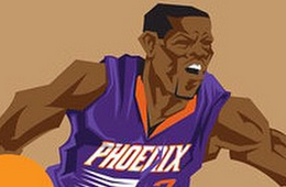 Eric Bledsoe 'PAID' Caricature Art