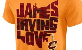Cleveland Cavaliers State Outline Tee