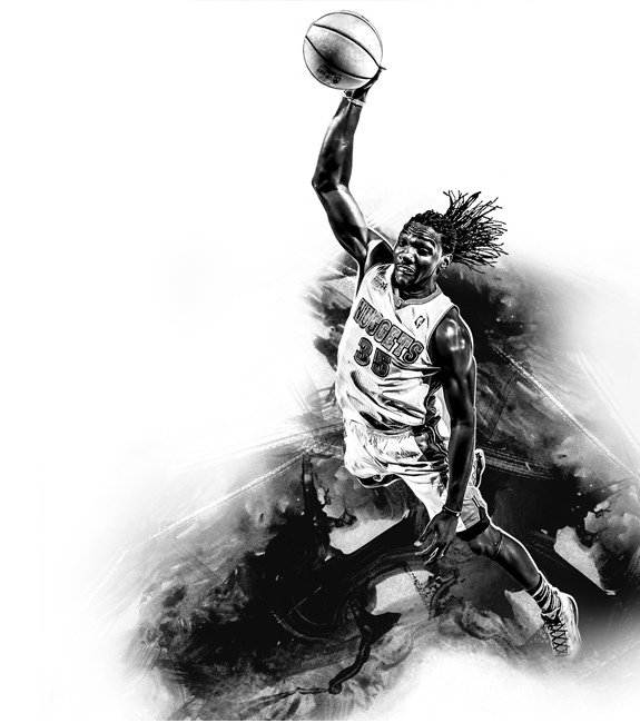 Kenneth Faried 'Abyss' Illustration