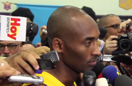Kobe Bryant Talks Future, Derek Jeter and Michael Jordan
