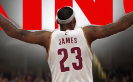 Check Out This NBA 2K14 LeBron James Mix