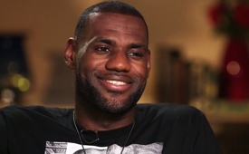 LeBron James Sits Down with Rachel Nichols