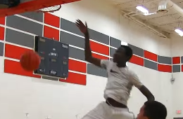 Manute Bol's 14-Year-Old Son Is Really Good