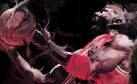 Michael Jordan 'His Airness' Digital Painting