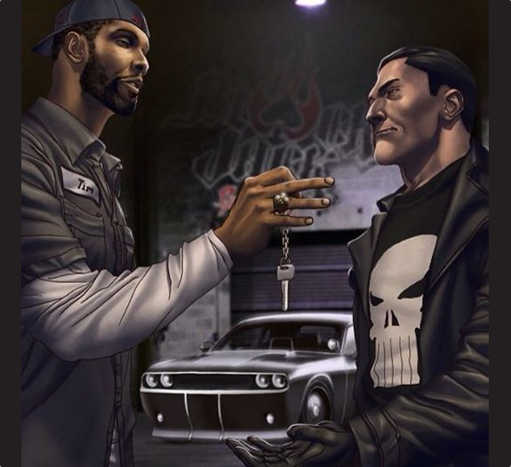 Tim Duncan To Be Featured In Punisher Comic