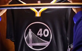 Golden State Warriors Unveil Slate Alternate Jerseys