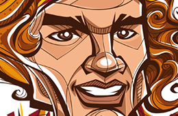 Anderson Varejao 'From Colatina to Cleveland' Character Design