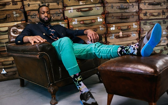 Dwyane Wade x STANCE Holiday 2014 Collection