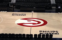Atlanta Hawks Unveil Their New Court