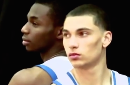 Andrew Wiggins and Zach LaVine are the 'Bounce Brothers'